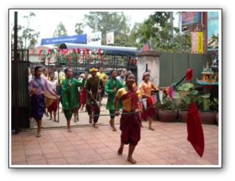 カンボジア正月