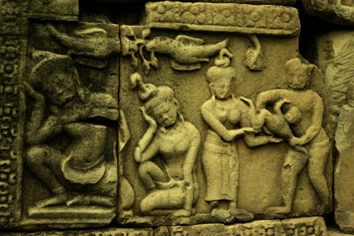 バプーオン遺跡(カンボジア)