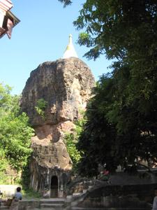 ミャンマー、ポーウィン山